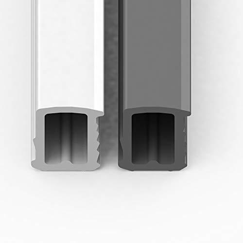 5 Meter Stahlzargendichtung Stahlzarge Dichtung Türdichtung Länge grau