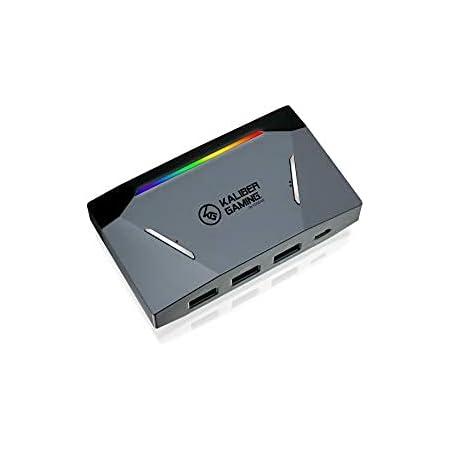IOGEAR KeyMander 2 Keyboard/Mouse Adapter Plus Controller Crossover- GE1337P2, Black