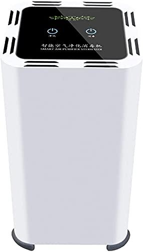 ZKHD Purificador de Aire de Iones Negativos con Purificador de Aire con Temporizador para Purificador de Aire Portátil Doméstico,Captura 99,97% de Bacterias, Alérgenos