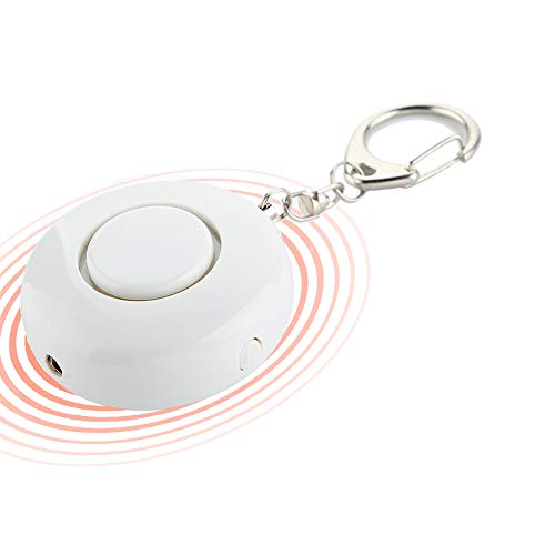 Alarma Personal de Sonido Seguro para Mujeres, autodefensa, 130DB con Luces LED, Armas de autodefensa para Mujeres, niños, Ancianos, Caminantes nocturnos, Personas discapacitadas