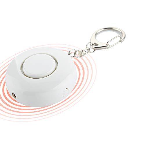 Alarma Personal de Sonido Seguro para Mujeres, autodefensa, 130DB con Luces LED, Armas de...
