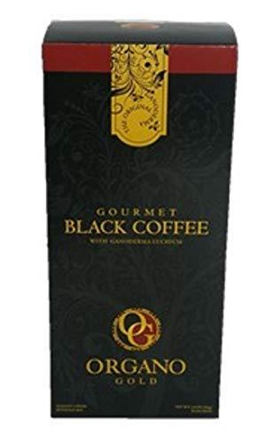 Organo Gold GOURMET BLACK COFFEE Café NOIR (30 Sachets) (1)