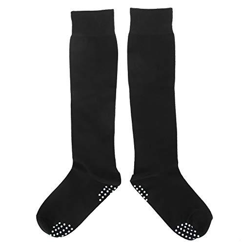 Calcetines de baile Calcetines de algodón antideslizantes amigables con la piel Calcetines de mujer Medias altas Calcetines de yoga Calcetines antideslizantes para exteriores