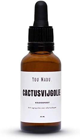 Cactusvijgolie Prickly Pear100 Natuurlijk en Koudgeperst30ml