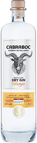 Cabraboc Dry Gin Taronja 0,7L - Mallorca Spanien - 44% vol - ideal für Gin Tonic und andere Gin Cocktails