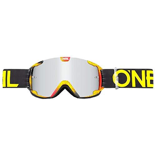 O'Neill Wetsuits 6032-103O – Oneal B-30 Ink Jugendliche, Motocross-Brille, Schwarz, Hi-Viz