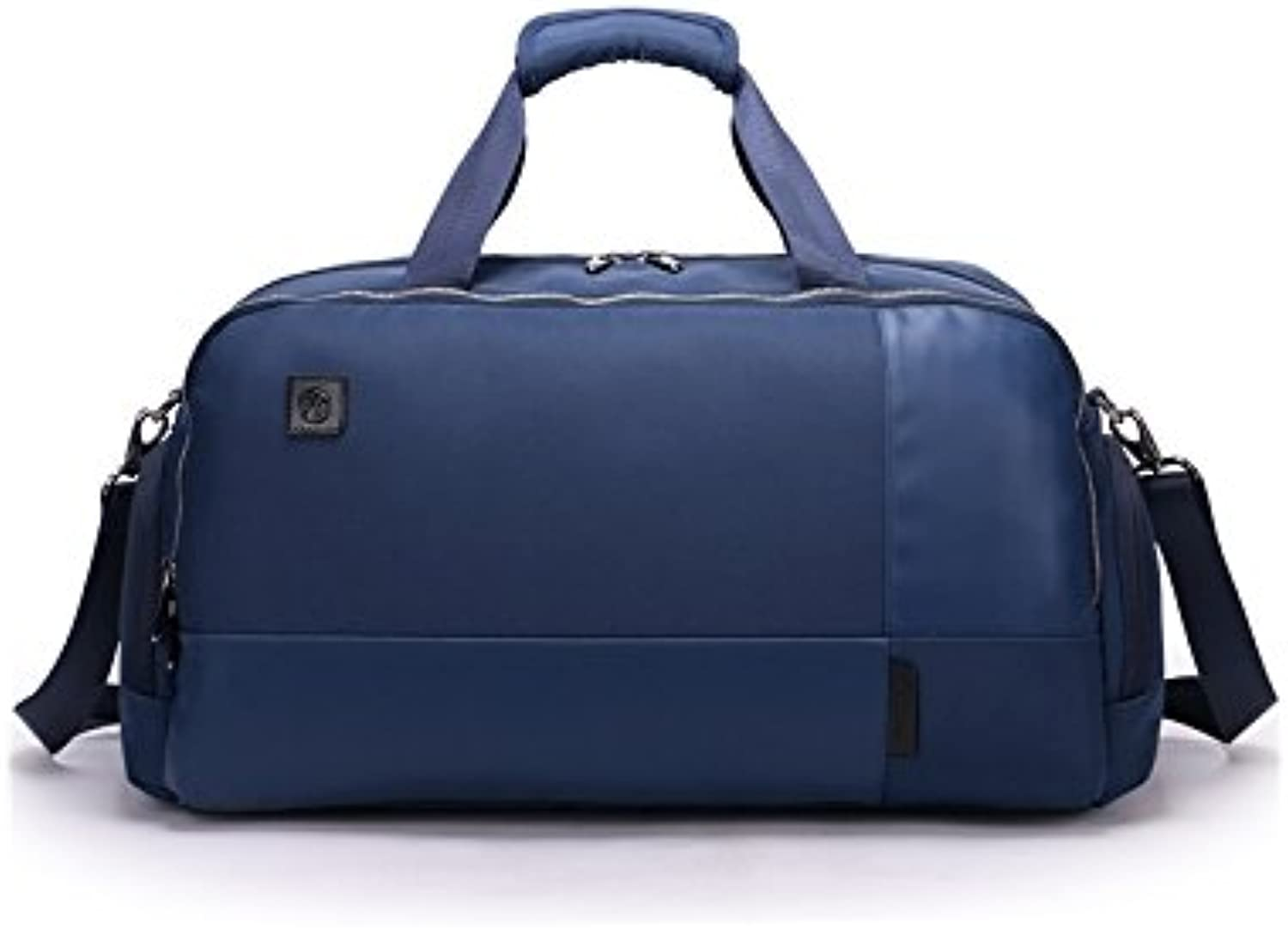 Hiking Outdoor Large Capacity Polyester Gym Bag Sports Holdall Travel Weekender Duffel Bag for Men and Women(blueee) for Outdoor Traveling