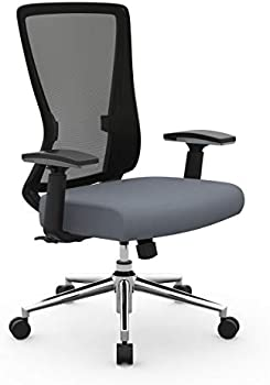 Realspace Levari Faux Leather Mid-Back Task Chair