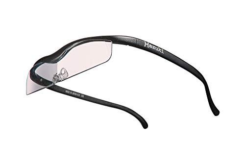 Hazuki ハズキルーペ 直営店 公式店 限定 倍率交換保証付き クール 1.6倍 カラーレンズ 黒 ハズキ 拡大鏡 ルーペ メガネ型 眼鏡型 めがね型 メガネ 眼鏡 めがね 日本製 MADE IN JAPAN ギフト