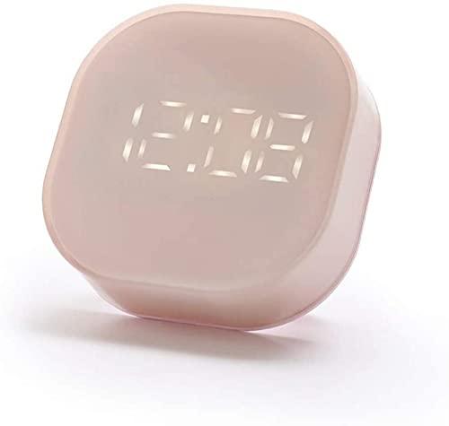 Väckarklockor, Klocka Ny Home Desk Alarm Heave Sleepers Sovrum Kids Desk Electric Digital Display Temperaturmagnet Kylskåp Klistermärke Fyrkant