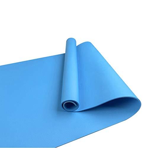 YAOYAN Esterilla antideslizante de yoga de 6 mm, para pilates, gimnasia, ejercicios de culturismo, etc.