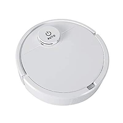 PVFLYMK Robot Vacuum Cleaner, ES300 Rechargeable Automatic Smart Cleaner Sweeper Suction Dust Remover for Cleaning Pet Hair, Hard Floor and Low Pile Carpet Ultra-Thin, Powerful All-Ground Suction