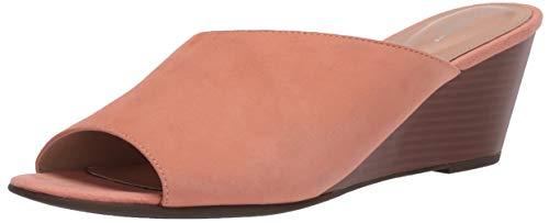 Rockport Women's Slide Wedge Sandal, Coral Haze, 9.5 W (C)