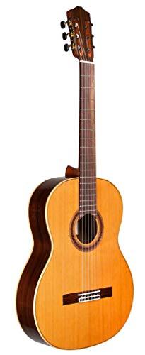 Cordoba Guitars 6 String Acoustic Guitar, Right Handed, Natural, Full (Cordoba F7 Paco)