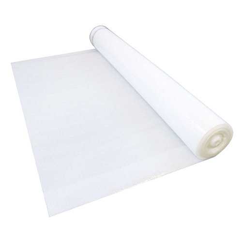 DuoFoam - 2-in-1 Foam Underlayment for Wood and Laminate Flooring - Cushions, Block Moistures & Affordable, 100 sq ft