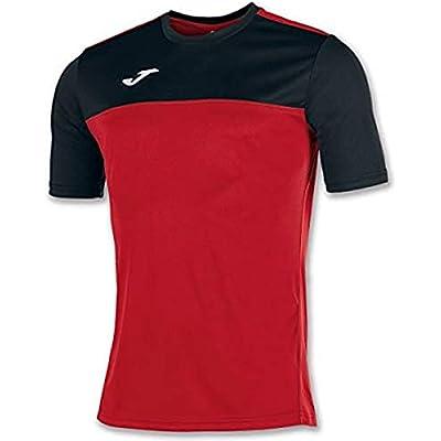 Joma Winner Camisetas Equip. M/C, Hombre, Rojo Negro, L