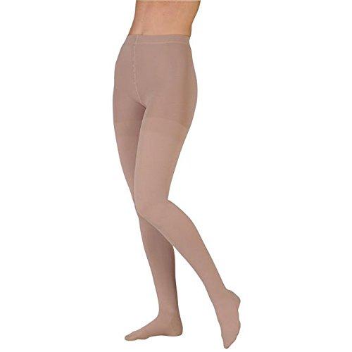 Juzo 3512 Dynamic (Varin) Soft Closed Toe Pantyhose 30 40 mmHg Short Beige I Short 3512ATFFSH I