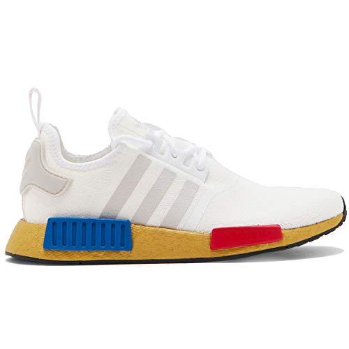 Adidas Originals NMD R1 Herren-Laufschuh Fv3642, Weiá (Weiß/Lush Red/Lush Blue), 42 EU