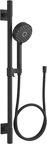 KOHLER K-99242-BL Kit de barra deslizante para despertar, negro mate