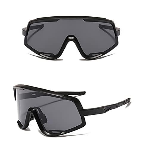 WDEEFR Frio Gafas de Sol de Bicicleta Gafas de Montar para Hombres Deportes al Aire Libre Gafas de Sol Polarizadas Variable Speed Road Bike Gafas Gafas (Color : NO 01, Size : One)