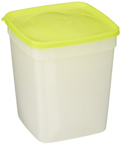 Arrow Home Products 00044 1-Quart Freezer Containers, 3-Pack, White/green