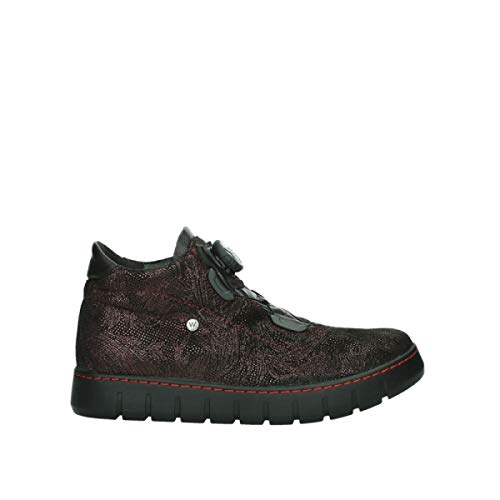 Wolky Comfort Boots Rap - 43510 weinrot Velourleder - 38