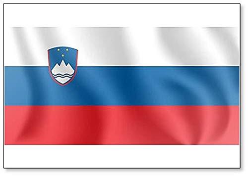 Kühlschrankmagnet, Motiv Flagge der Republik Slowenien