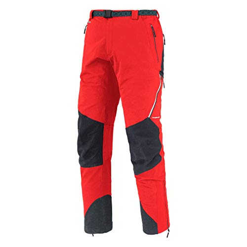 Trangoworld Prote FI Pantalon Long pour Homme XL Rouge, Anthracite