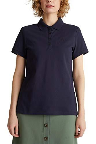ESPRIT Damen 030EE1K324 T-Shirt, 400/NAVY, XXL