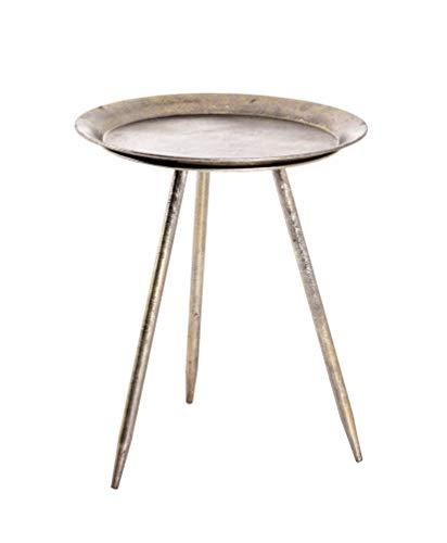 HAKU Möbel Beistelltisch, Metall, bronze, Ø 38 x 47 cm