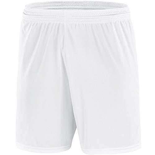 Jako Kinder Shorts Sporthose Palermo ohne Logo ohne Innenslip, Weiß, 2