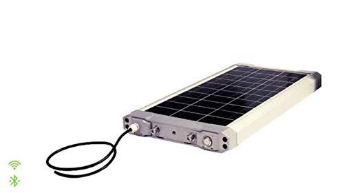 Zonnepaneel met powerbank zonne-batterij.