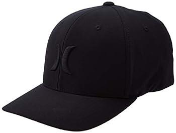 Hurley Men s Dr-fit One & Only Flexfit Baseball Cap Black/Black Large/X-Large