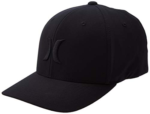 Hurley M Dri-Fit One&Only 2.0 Gorras, Hombre, Black/Black, S/M