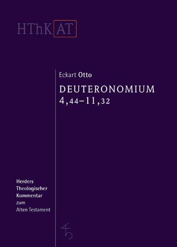 Herders theologischer Kommentar zum Alten Testament: Deuteronomium 1-11: Zweiter Teilband: 4,44-11,32