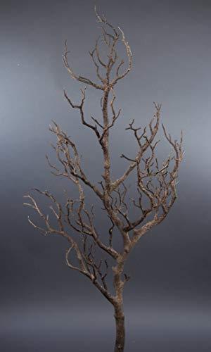 Seidenblumen Roß Großer Dekoast/Dekozweig 80cm braun YF künstlicher AST Zweig Kunstast Kunststoff