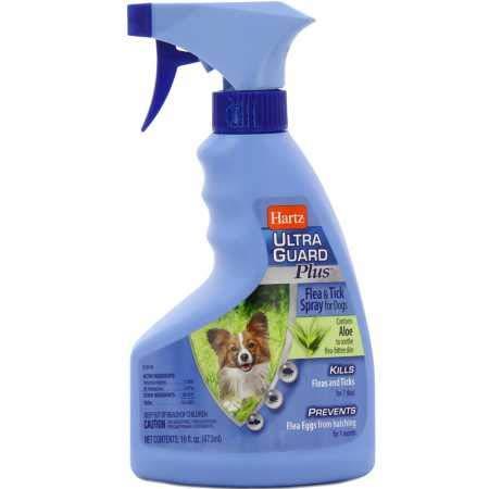 Hartz UltraGuard Plus Flea Tick Spray for Dogs (16 oz)