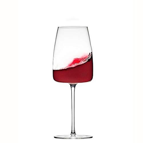 Fevilady Copas de vino europeas sin plomo, grandes copas de vino tinto...