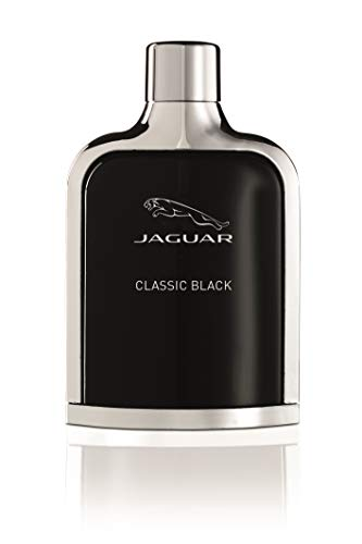 Jaguar Classic Black Herren, Eau de Toilette Natural Spray, 100 ml