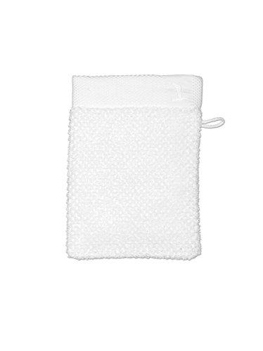 möve New Essential gant de lavage 15 x 20 cm en 100% coton, snow