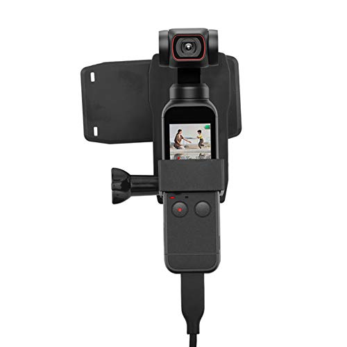 Moolo Rucksack Clip Rotation Rucksack Clip Erweiterung Feste Basis Montagehalterung Für DJI Osmo Pocket 1/2 Kamera