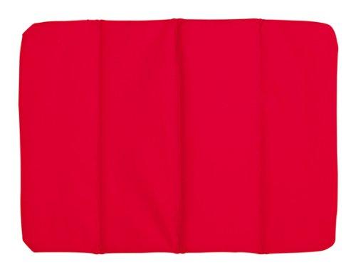 TOPICO Sitzkissen Perfect Place, Pouf Unisex-Adulti, Colore: Rosso, 34 x 26 cm