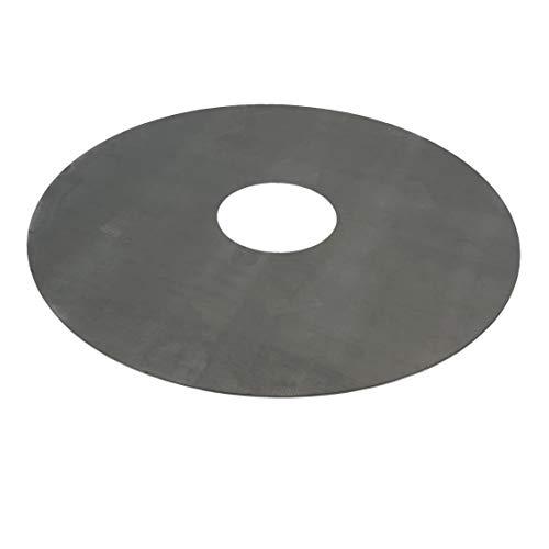 SRM-Design Feuerplatte Grillplatte Ø 80cm Materialstärke 5mm Barbecue Holzkohle-Grill Fassgrill Kugelgrill Feuertonne Stahlfass BBQ