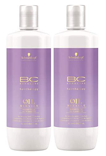 2er Schwarzkopf Professional Bonacure Oil Miracle Barbary Fig Oil Shampoo 1000 ml