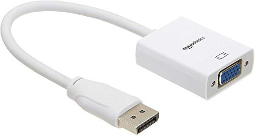 AmazonBasics Adaptador DisplayPort (no HDMI / USB) a VGA