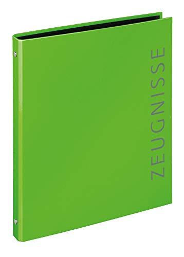 Veloflex 4144341 4144341-Zeugnisringbuch Velocolor, DIN A4, grün, 1 Stück
