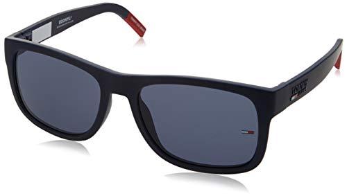 Tommy Hilfiger TJ 0001/S gafas de sol, MTT AZUL, 56 Unisex Adulto