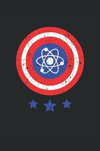 Atomo: Fisico Scienziato Fisica Atom Geek Regali Quaderno a righe (formato A5, 15, 24 x 22, 86 cm, 120 pagine)