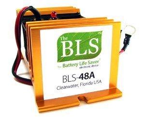 Battery Life Saver BLS-48BW 48 volt Battery System Desulfator Rejuvenator by Battery Life Saver