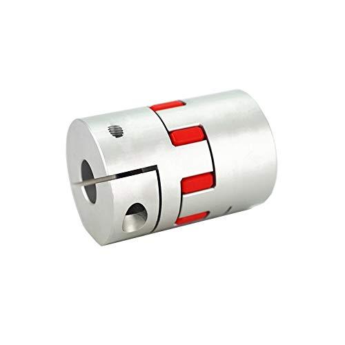 XBaofu 1PCS Flexible Plum Wellenkupplung D20L25 D20L30 D25L30 D25L35 D30L35 CNC Schrittmotor-Koppler Jaw Wellenkupplung 5mm 8mm 10mm (Größe : D20L30 5x8)